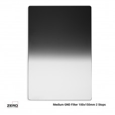 Medium Graduated GND Filter 2 Stops 100x150mm ND0.6 Zero Camera Filters