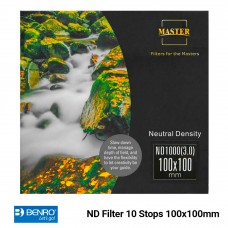 ND Filter 10 Stops 100x100mm ND3.0 1000x Master Benro
