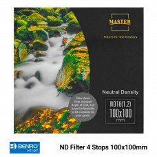 ND Filter 4 Stops 100x100mm ND1.2 16x Master Benro