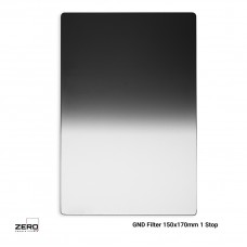 Soft Graduated ND Filter 1 Stop 150x170mm ND0.3 Zero Camera Filters