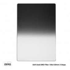 Soft Graduated ND Filter 3 Stops 100x150mm ND0.9 Zero Camera Filters