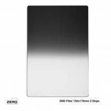 Soft Graduated ND Filter 3 Stops 150x170mm ND0.9 Zero Camera Filters